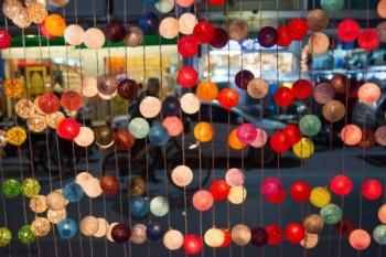 כדורים צבעונים