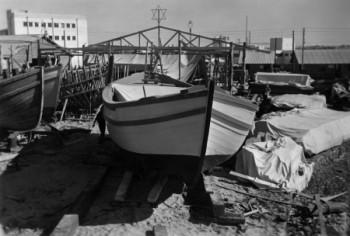 תל אביב 1937 מספנה בנמל