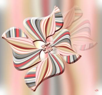 פרח בשיאו הורוד