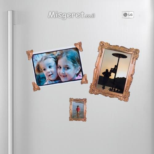 מסגרות מגנטיות למקרר