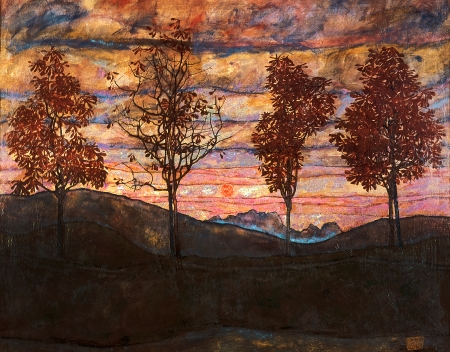 ארבעה עצים Four trees