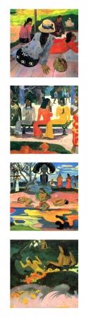 קולאג Paul Gauguin