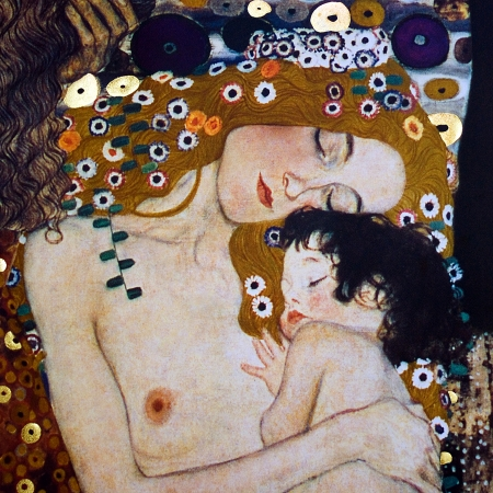 אישה עם ילד