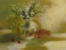 פרחים ודובדבנים