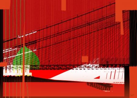 גשר באדום