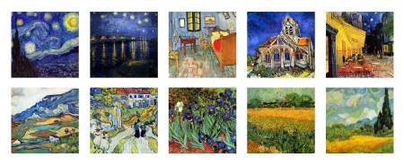 vincent van gogh collage