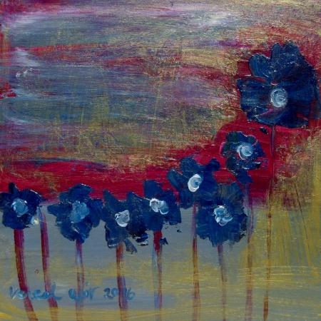 פרחים זהובים