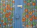 דלת פרחים