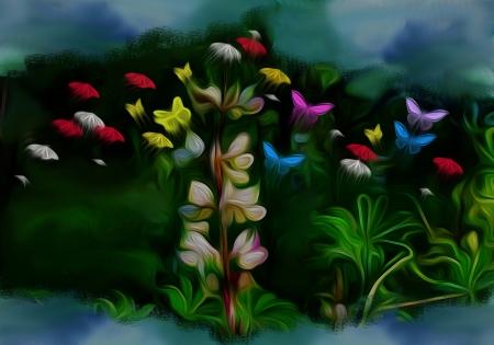 פרח פרפרים