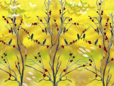 עץ ציפורים
