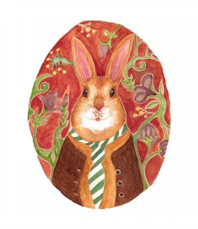 ארנב עם עניבה