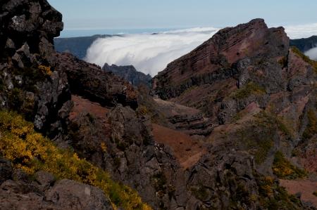 מפל של עננים