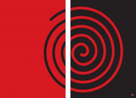 שבלול אדום שחור