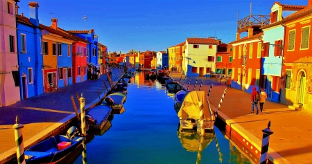 כפר דייגים צבעוני