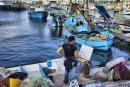 סירות דייגים בנמל יפו