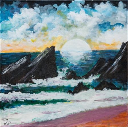 טרשים בים