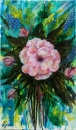 זר פרחים - ורד