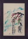 ציור סיני-פרחים