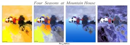 4 עונות  בקצה ההר