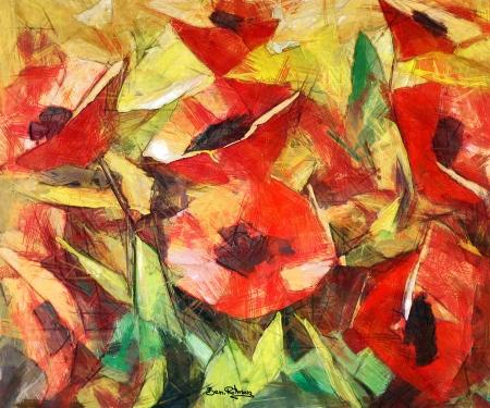 האדומים הפרגים