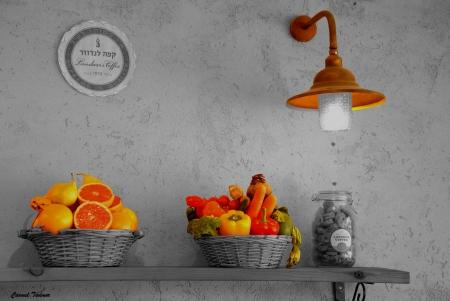 תאורת הפירות