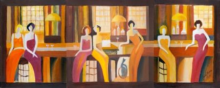 נשים בפיאנו-בר