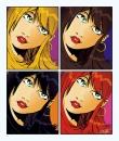 ארבע נשים פופ ארט