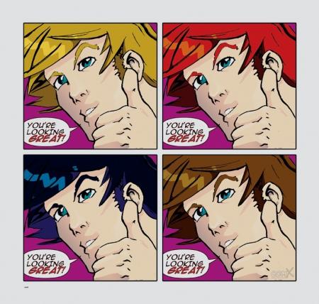 Warhol Dude 4 in 1
