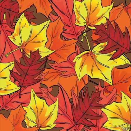 Leafs autumn right