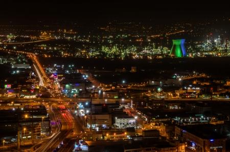 חיפה בלילה