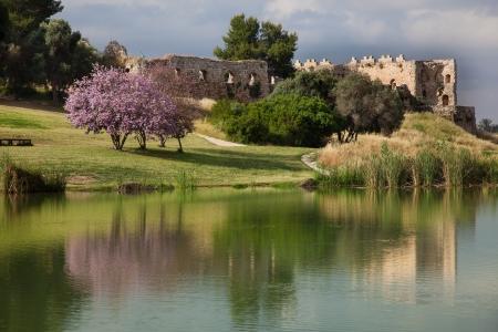 אור וצבע במבצר אנטיפטרוס