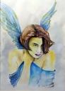 מלאך כחול