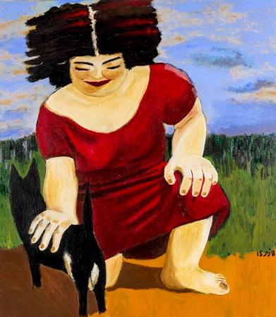 אשת החתולים