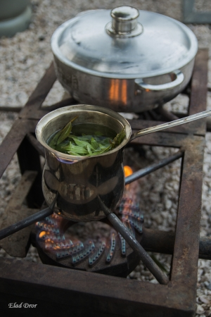 תה בשטח