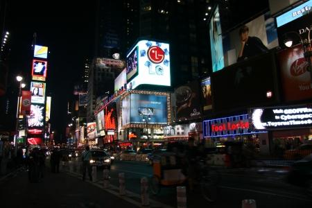 טיימס סקוור בלילה