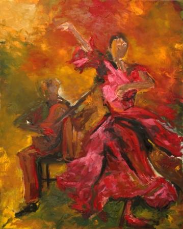 ריקוד באדום
