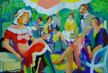 מסיבת גן פריזאית