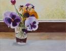 פרחים בצנצנת