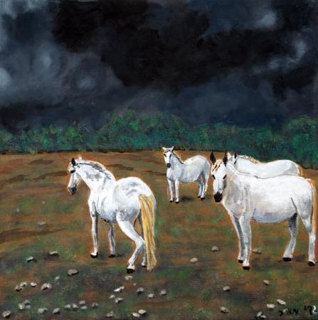 סוסים טרם הסערה
