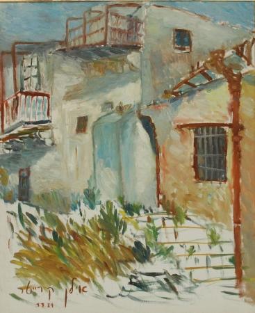 בתים עתיקים בצפת