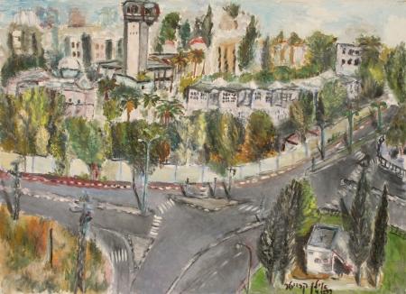 בר אילן- הצומת הישן
