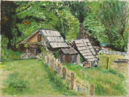 בקתות בסלובניה מבט מקרוב