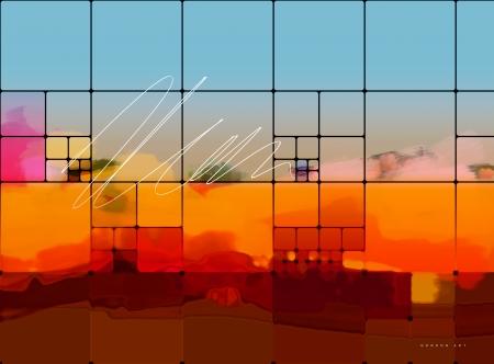 אלף צבעים בחלונות העיר