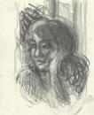 פנים של בחורה