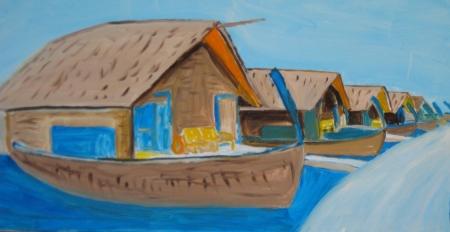 ביתנים לייד הים