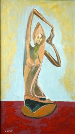 פסל של אישה