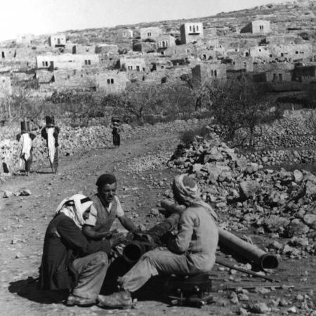 עבודות במעיין 1947 - עלאר