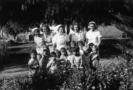 שדה נחום 1947, ילדי הגן