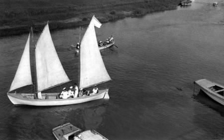 תל אביב 1939 סירה בירקון