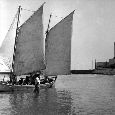 תל אביב 1939 סירת מפרשים